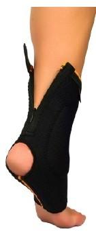Cavigliera chiusura a zip - protezione malleolo
