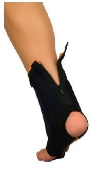 Cavigliera stabilizzante con zip
