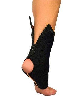 Cavigliera chiusura a zip protezione malleolo