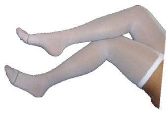 Calza a coscia anti trombosi