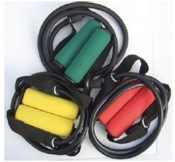 Elastico tubolare con maniglie