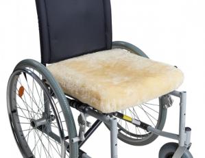 Cuscino sedia agnello con memoria